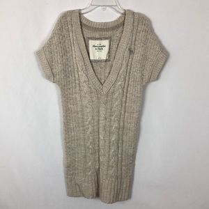 Abercrombie & Fitch long v neck sweater